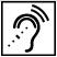 Assistive listening symbol